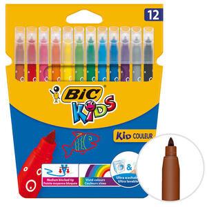 Bic Kids Couleur 9202932 Keçeli Boya Kalemi 12'li Paket