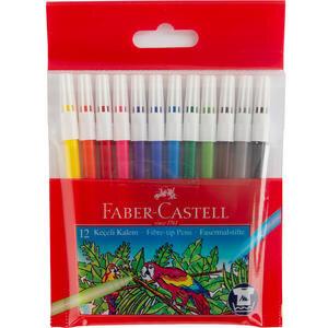 Faber-Castell Keçeli Kalem Poşet 12'li