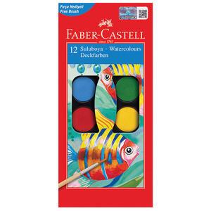 Faber Castell Redline Suluboya Büyük Boy 12 Renk Avansascom