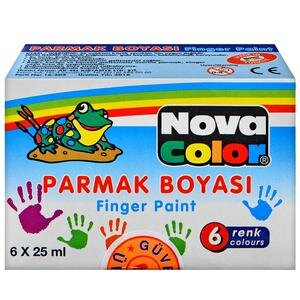 Nova Color Nc-138 Parmak Boyası 6'lı Paket