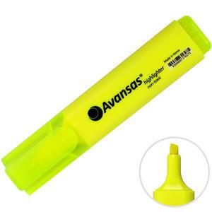 Avansas 904 Fosforlu Kalem Sarı