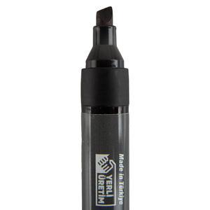 Avansas 908 Marker Kalem Kesik Uçlu Siyah