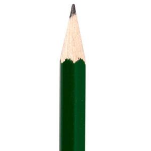 Faber Castell HB Köşeli Dipli Kurşun Kalem 12'li Paket