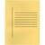 Avansas Büro Dosyası Tam Kapak Sarı 25'li Paket