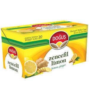 Doğuş Bitki Çayı Limon Zencefil 20'li Paket