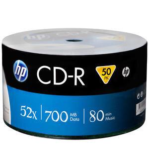 HP CD-R CRE00070-3 52X 700 Mb 50'li Paket