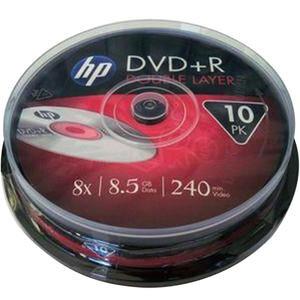 HP DVD-R DRE00060-3 8.5 GB 8X 10'lu Cake Box