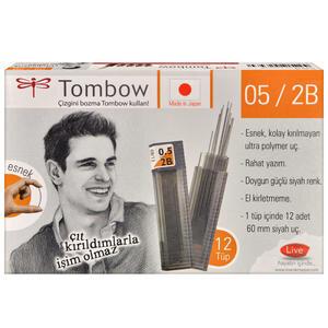 Tombow 0.5 mm 2B Kalem Ucu 12'li Paket