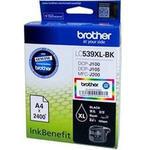 Brother LC539XL-BK Siyah (Black) Kartuş 2400 Sayfa