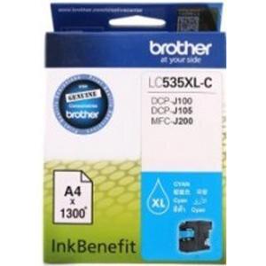 Brother LC535XL-C Mavi (Cyan) Kartuş 1300 Sayfa