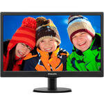 "Philips 203V5LSB2/62 Led Monitör 19.5"" 5MS Siyah D-SUB"