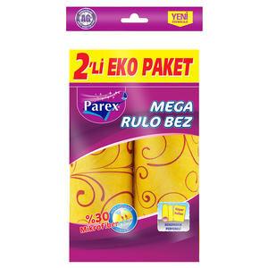 Parex Perforeli Mega Rulo Temizlik Bezi 2'li Paket