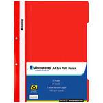 Avansas Eco Telli Dosya Kırmızı 25'li Paket