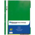 Avansas Eco Telli Dosya Yeşil 25'li Paket