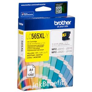 Brother LC565XLY Sarı (Yellow) Kartuş 1200 Sayfa