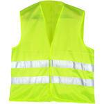 AL İkaz Yeleği Fosforlu Sarı
