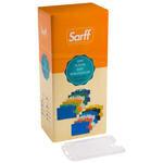 Sarff Dikey Kart Muhafaza Kabı Şeffaf 50'li Paket