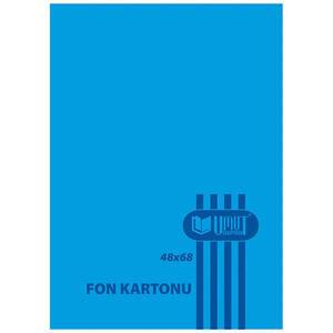 Umut Fon Kartonu 50 cm x 70 cm Mavi 100'lü Paket
