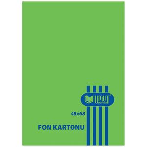 Umut Fon Kartonu 50 cm x 70 cm Yeşil 100'lü Paket