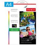 Tanex Fotoğraf Kağıdı A4 240 gr 210 mm x 297 mm 20 Sayfa