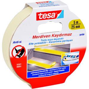 Tesa 55587 Merdiven Kaydırmaz Bant Fosforlu 25 mm x 5 m