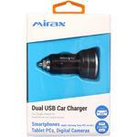 Mirax SCR-1122 Araç Şarj Adaptörü Çift USB Girişli