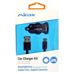 Mirax SDE-1100 Android USB Şarj ve Data Kablosu (Araç Şarj Aparatı Hediyeli)
