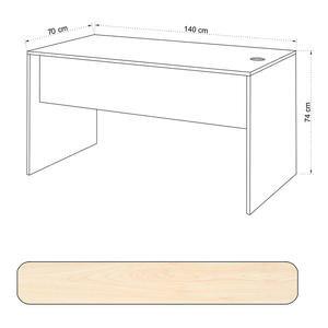 Avansas Comfort Çalışma Masası 140 cm Akçaağaç