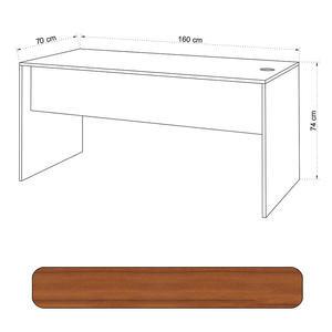 Avansas Comfort Çalışma Masası 160 cm Teak