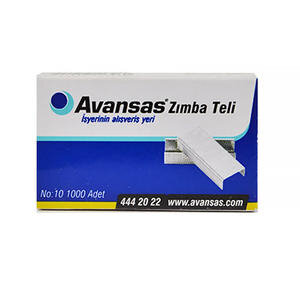 Avansas AY16 Zımba Teli  No:10 1000'li Kutu
