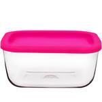 Lav Cube Kapaklı Saklama Kabı 2li Paket
