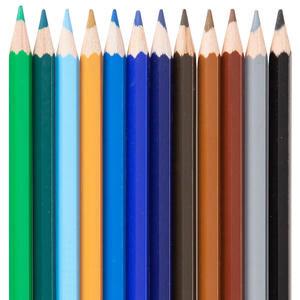 Faber Castell Metal Tüpte Kuru Boya Kalemi Karışık Renk 24'lü Paket