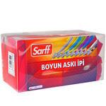 Sarff Klipsli Askı İpi Kırmızı 50'li Paket