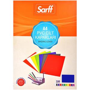 Sarff Cilt Kapağı Pvc 160 Mikron Lacivert A4 100'lü Paket
