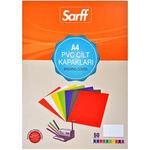 Sarff Cilt Kapağı 450 Mikron Buzlu Şeffaf A4 50'li Paket