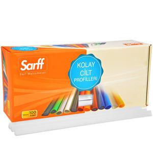Sarff Plastik Geniş Sırtlık 15 mm Şeffaf 100'lü Kutu