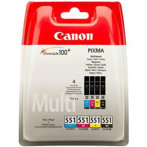 Canon CLI-551CMYBK Multipack 4 Renk Kartuş