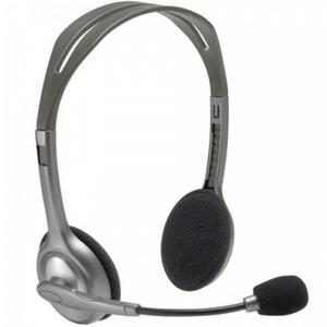 Logitech H110 Stereo Mikrofonlu Kulaklık 35 mm Jack Gri