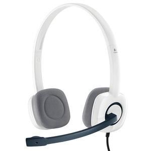 Logitech H150 Coconut Stereo Mikrofonlu Kulaklık Beyaz