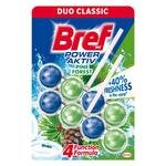 Bref Power Aktiv Duo Pack Tuvalet Temizleyici Çam 2'li 50 gr