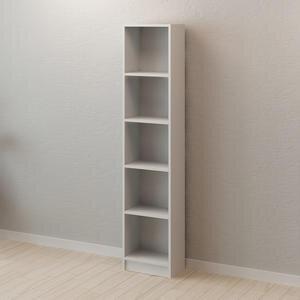 Avansas Comfort 5 Raflı Çok Amaçlı Kitaplık Beyaz