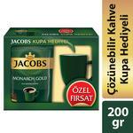 Jacobs Monarch Gold Kahve 200 gr Kupa Hediyeli