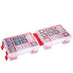 Mano TR ORG-7 Twin Organizer Malzeme Kutusu Kırmızı