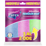 Parex Mikrofiber Comfort Temizlik Bezi 3 Al 2 Öde