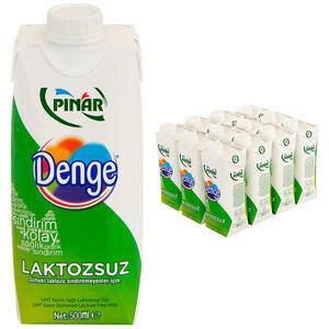 Pınar Laktozsuz Süt 500 ml 12'li Paket