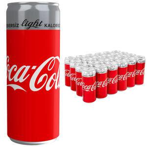 Coca-Cola Light 330 ml 24'lü Paket