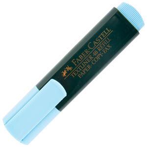 Faber Castell 48 Fosforlu Kalem Mavi