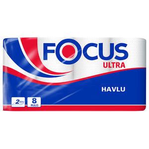 Focus Ultra Rulo Kağıt Havlu 8'li Paket