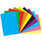 Bigpoint Fon Kartonu 35 cm x 50 cm Karışık Renkli 10'lu Paket
