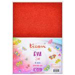 Ticon Yapışkanlı Simli Eva  20 cm x 30 cm 10'lu Paket